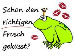 Schon den richtigen Frosch geküsst?